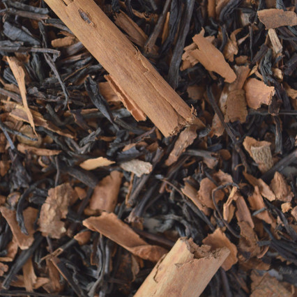 black tea with spices and star anise