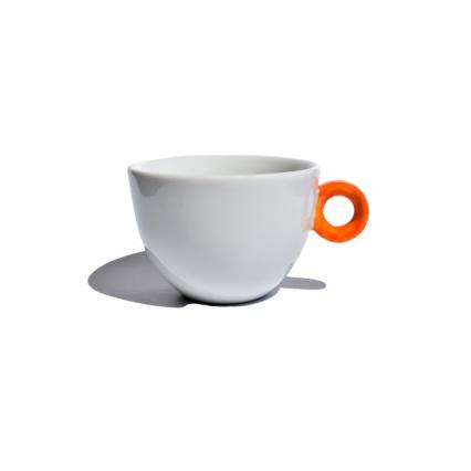 Mug with an orange detail