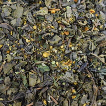 Πράσινο τσάι Πορτοκάλι Τσουκνίδα Γαϊδουράγκαθο
