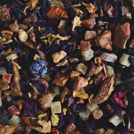 Τσάι με γεύση φράουλα - βατόμουρο
